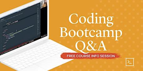 Coding Bootcamp Q&A tickets