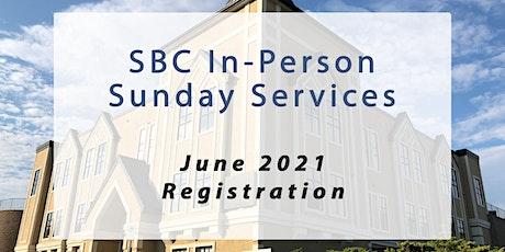 SBC Sunday Service | June 20 - 9:00am tickets