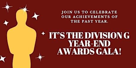Division G Year End Award Gala tickets