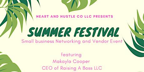 Small Business Summer Festival tickets