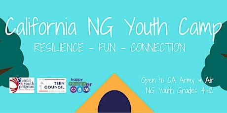 California NG Youth Camp tickets