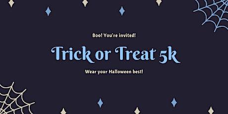 Trick or Treat 5k tickets