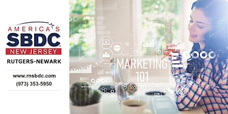 Marketing 101:  Cutting Through the Confusion Webinar/RNSBDC biglietti