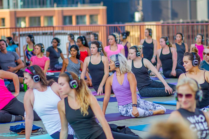 Rooftop Silent Disco Yoga at Ace Hotel image