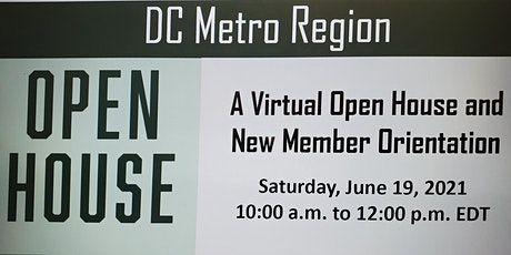 DC Metro Region Open House and New Member Orientation tickets