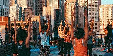 Rooftop Silent Disco Yoga at Ace Hotel tickets