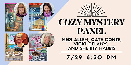 Cozy Mystery Panel tickets
