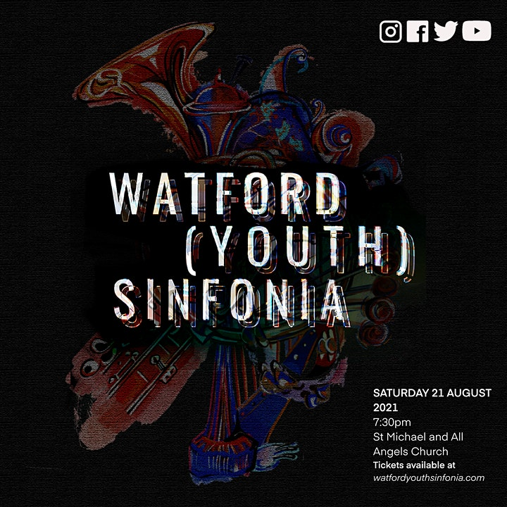 Watford (Youth) Sinfonia Summer Concert - The Livestream image