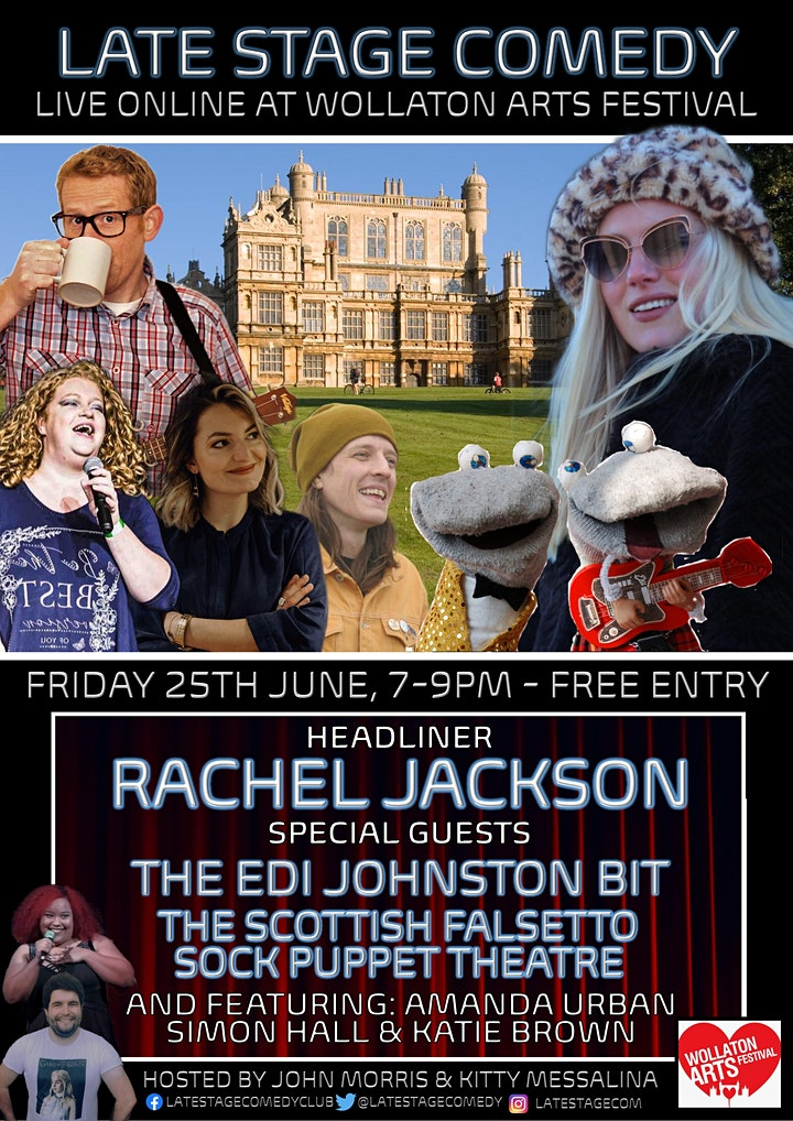Late Stage Comedy at Wollaton Arts Festival image