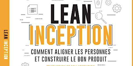 Lancement livre Lean Inception version française - CA billets
