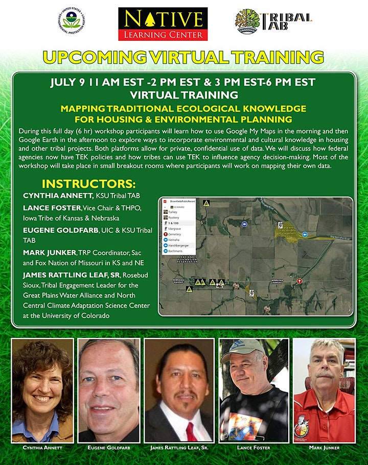 Mapping Traditional Ecological Knowledge (TEK) - July 9 image
