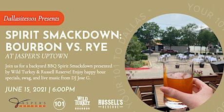 Spirit Smackdown: Bourbon Vs. Rye tickets