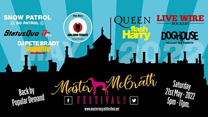 Master McGrath Festival 2022 tickets