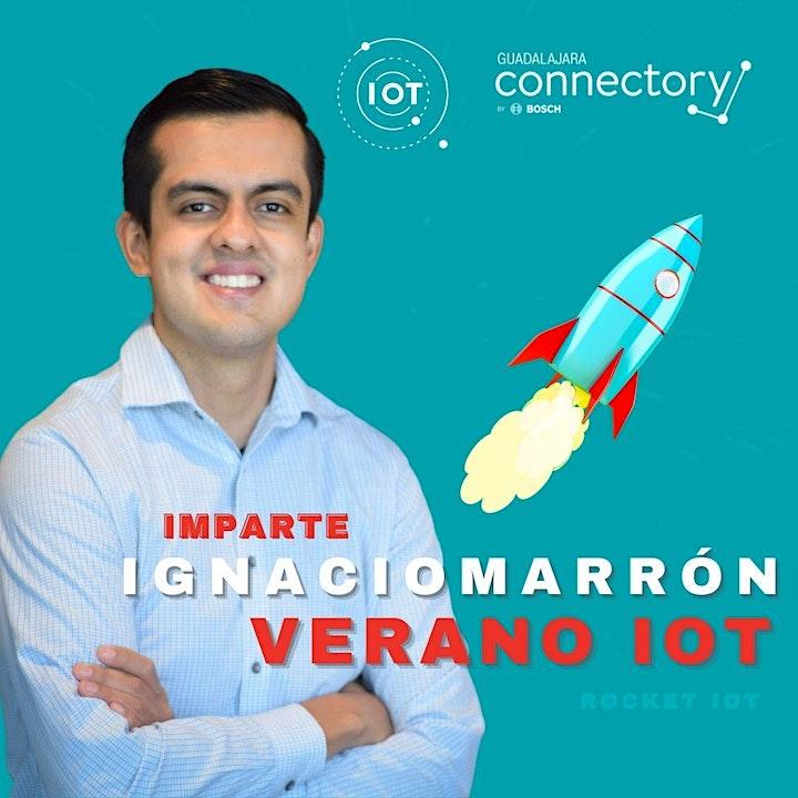Imagen de Verano Iot  2021 |Rocket IoT