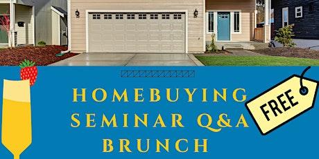Home Buying Seminar Q&A Brunch tickets