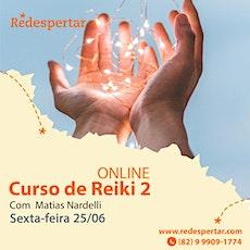 Curso de Reiki 2 Online ingressos