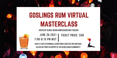 The Minther's Family & Friends Goslings Rum Virtual Masterclass tickets