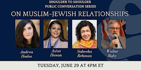 On Muslim-Jewish Relationships tickets