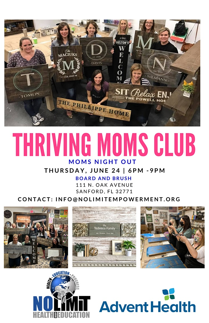 """Thriving Moms Club Presents """"Mom's Night Out"""" image"""