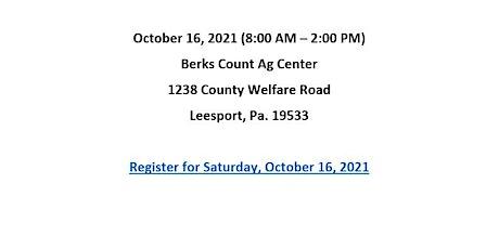 BERKS COUNTY - PAPER SHREDDING EVENT - October 16, 2021 tickets