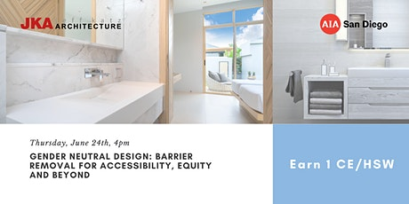Gender - Neutral Design: barrier removal for accessibility, equity & beyond tickets