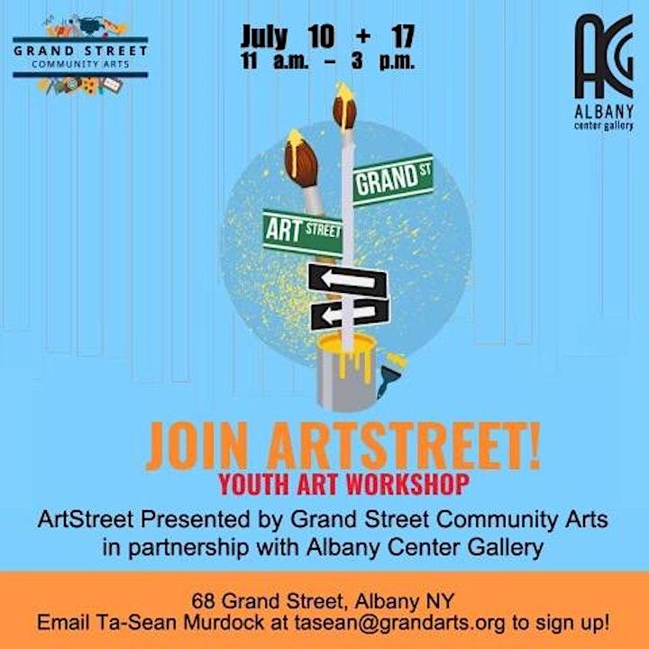 ArtStreet Youth Art Workshop image