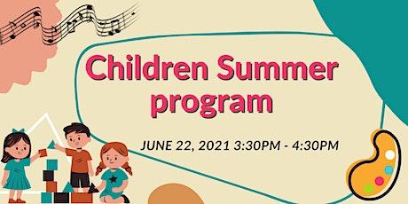Children Summer Program Trial Class tickets