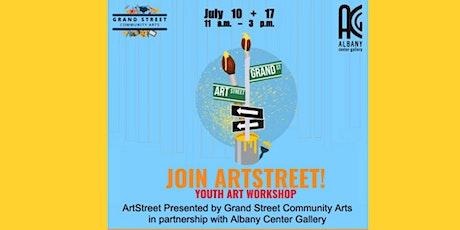ArtStreet Youth Art Workshop tickets