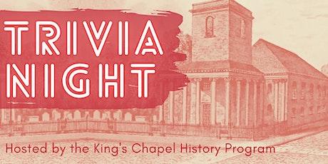 King's Chapel History Trivia Night! tickets