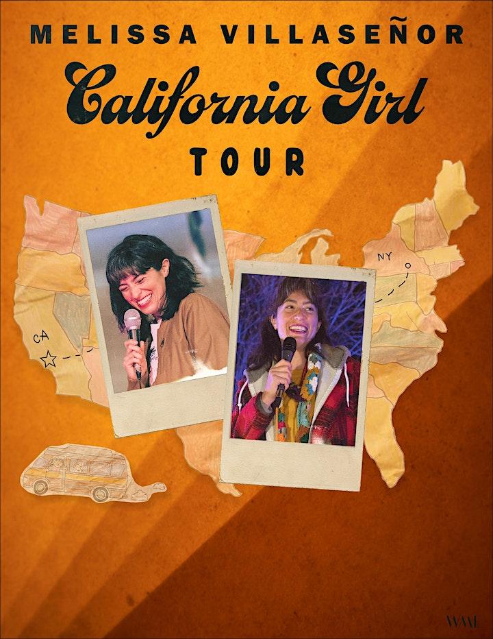 """""""CALIFORNIA GIRL TOUR"""" Featuring Melissa Villaseñor image"""