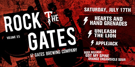 Rock The Gates 3.5 tickets