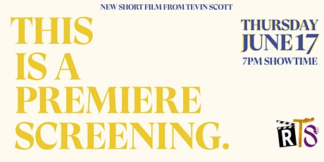 THIS IS A PREMIERE SCREENING tickets