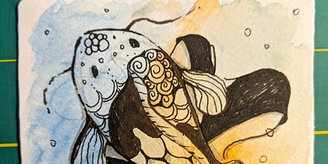 Let's Be Koi - A Zentangle Inspired Workshop tickets