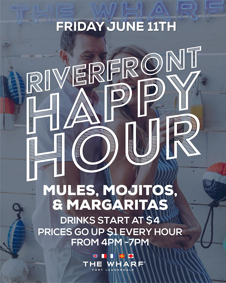 Riverfront Happy Hour at The Wharf FTL image