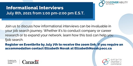 Informational Interviews: the ins and outs tickets