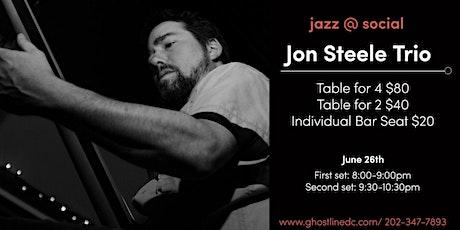 Live Jazz: Jon Steele Trio (show 1) tickets