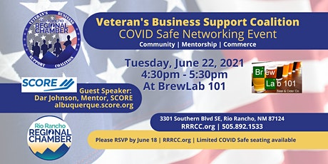 Veteran's Business Support Coalition Meeting - Brew Lab 101 tickets