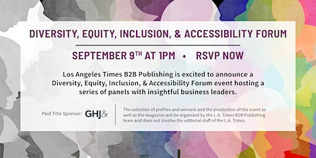 Diversity, Equity, Inclusion, & Accessibility Forum tickets