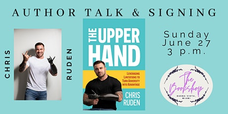 Author Talk & Signing for The Upper Hand by Chris Ruden tickets