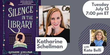 Book Launch with Katharine Schellman for SILENCE IN THE LIBRARY tickets