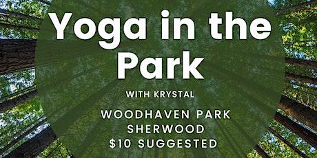 Tuesday Park Yoga with Krystal tickets