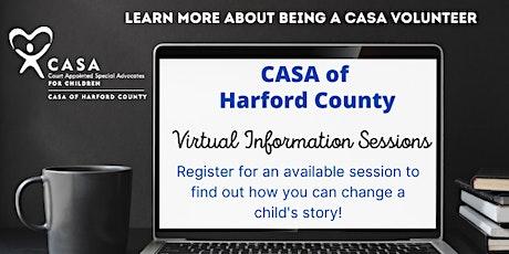 Virtual CASA Volunteer Information Session tickets