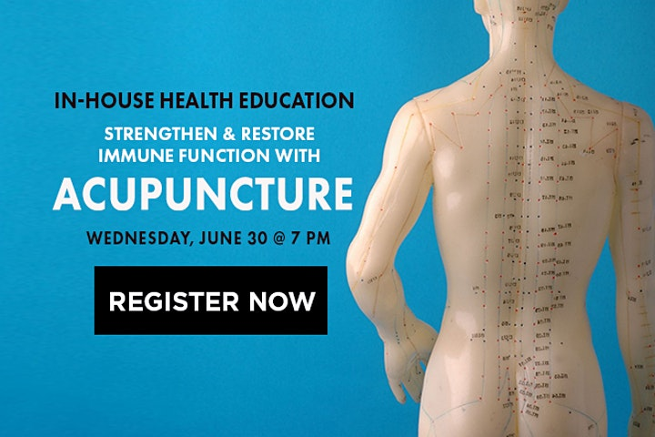Strengthen and Restore Immune Function with Acupuncture image