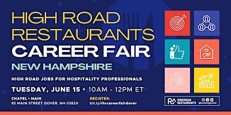 High Road Restaurants Career Fair: New Hampshire! tickets