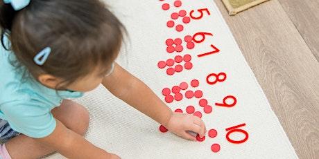 PD: Children's House Master Class - Math tickets
