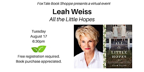 Leah Weiss, All The Little Hopes Virtual tickets