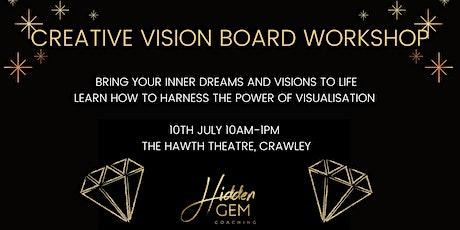 Creative Vision Board Workshop tickets