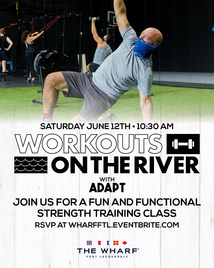 Workouts on the River at The Wharf FTL with ADAPT image