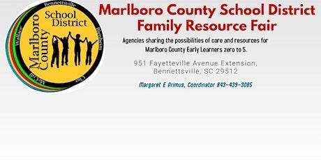 Marlboro County School District Resource Fair tickets