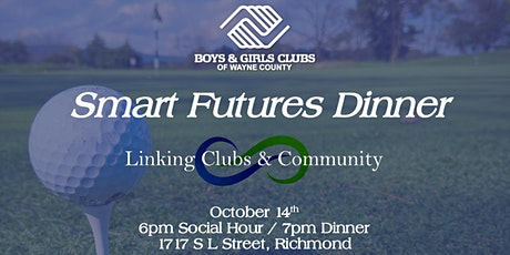 2021 Smart Futures Dinner: Linking Clubs & Community tickets